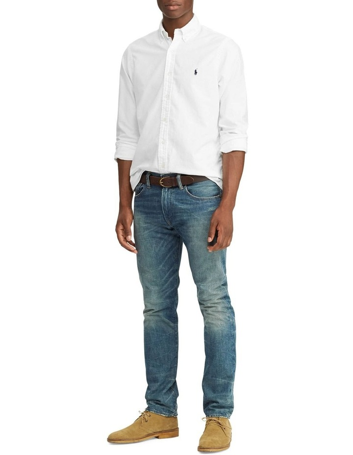 Garment-Dyed Oxford Long Sleeve Shirt image 3