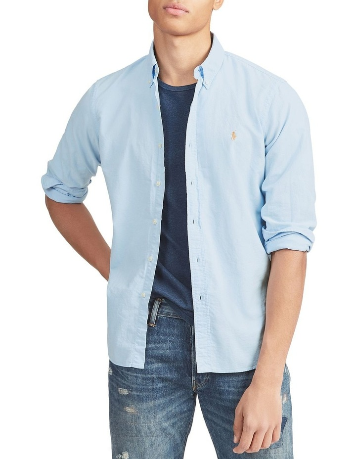 Classic Fit Oxford Long Sleeve Shirt image 5