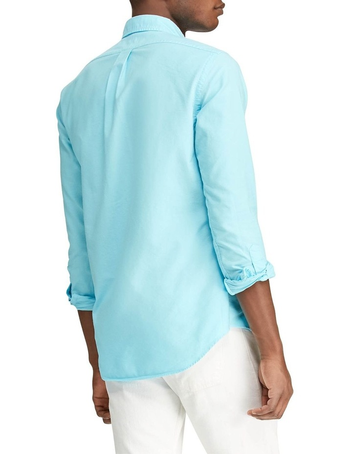 Garment-Dyed Oxford Long Sleeve Shirt image 2