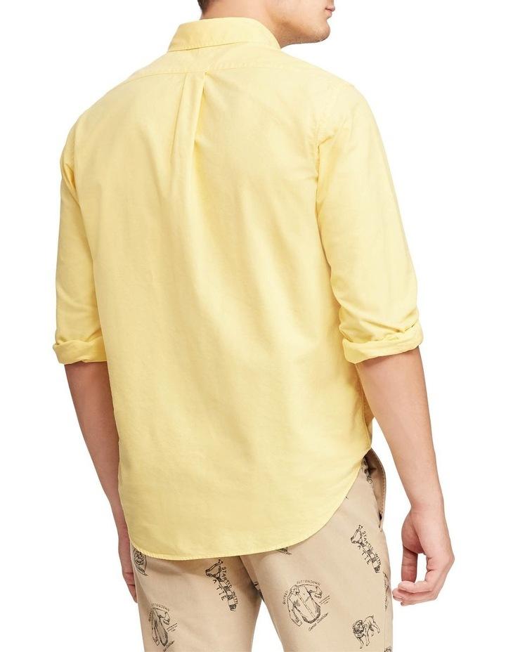 Garment-Dyed Oxford Long Sleeve Shirt image 2