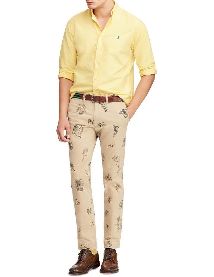 Garment-Dyed Oxford Long Sleeve Shirt image 3