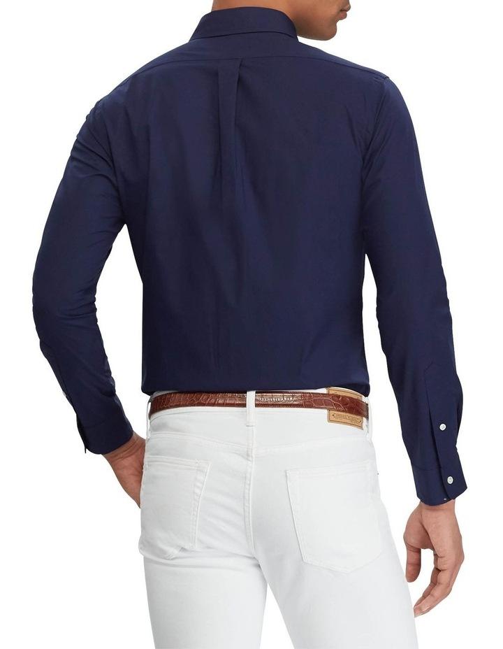 Slim Fit Poplin Long Sleeve Shirt image 2