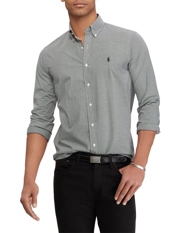 Classic Fit Checked Long Sleeve Shirt image 1