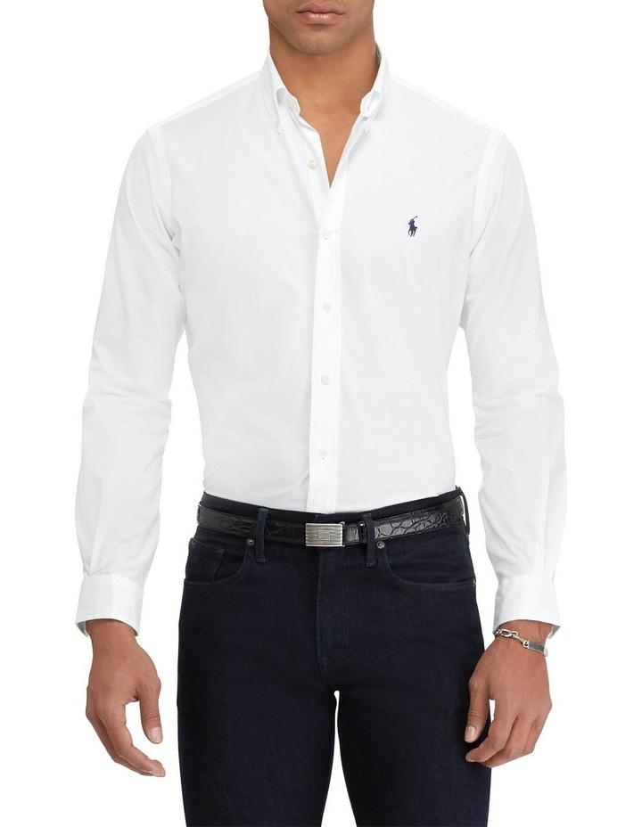 Classic Fit Poplin Long Sleeve Shirt image 1