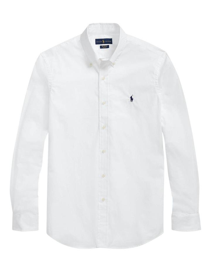 Classic Fit Poplin Long Sleeve Shirt image 4