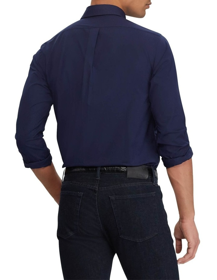 Classic Fit Poplin Long Sleeve Shirt image 2