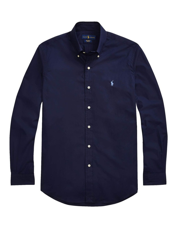Classic Fit Poplin Long Sleeve Shirt image 4