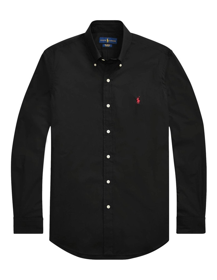 Classic Fit Poplin Long Sleeve Shirt image 3