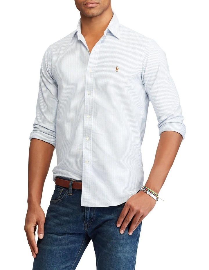 Classic Fit Oxford Long Sleeve Shirt image 1