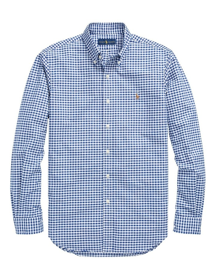 Classic Fit Cotton Sport Long Sleeve Shirt image 4