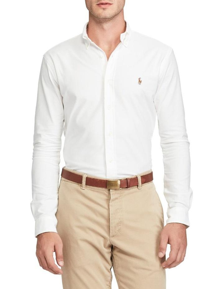 Slim Fit Oxford Long Sleeve Shirt image 1