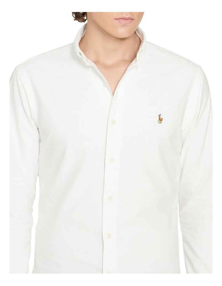 Slim Fit Oxford Long Sleeve Shirt image 5