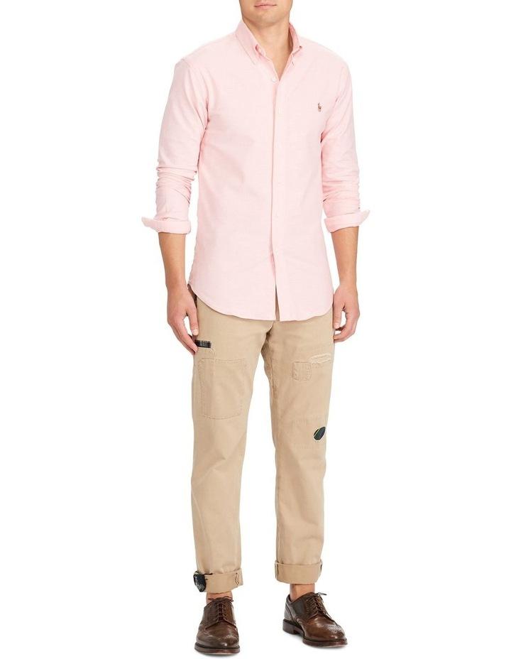 Slim Fit Oxford Long Sleeve Shirt image 3