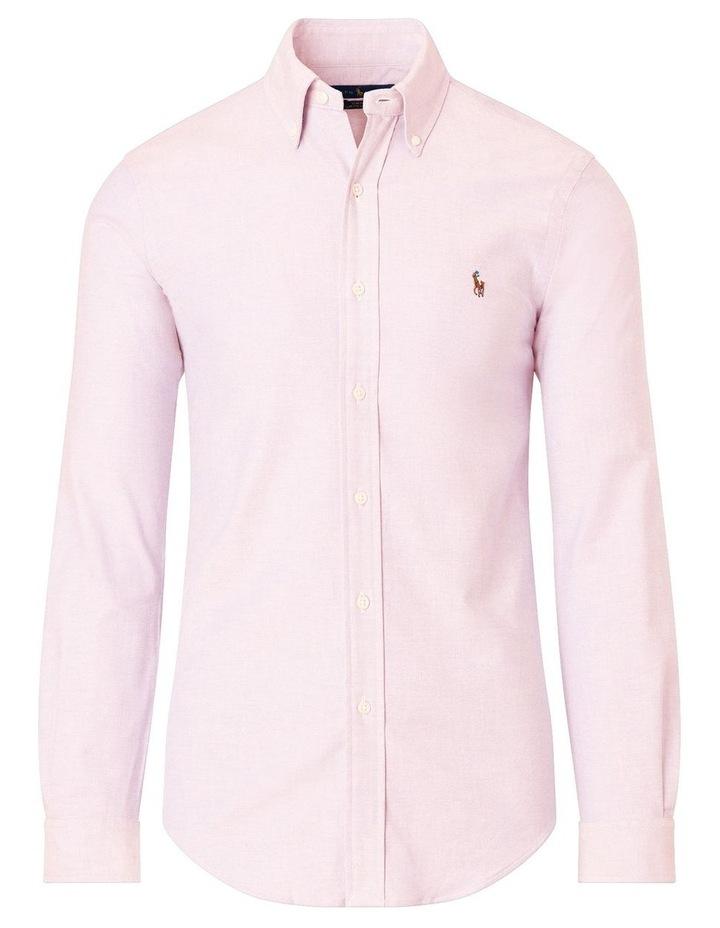 Slim Fit Oxford Long Sleeve Shirt image 4