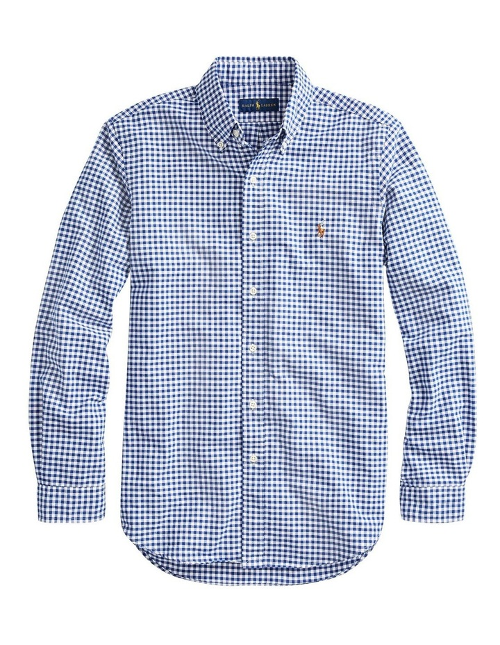 Slim Fit Oxford Sport Long Sleeve Shirt image 4