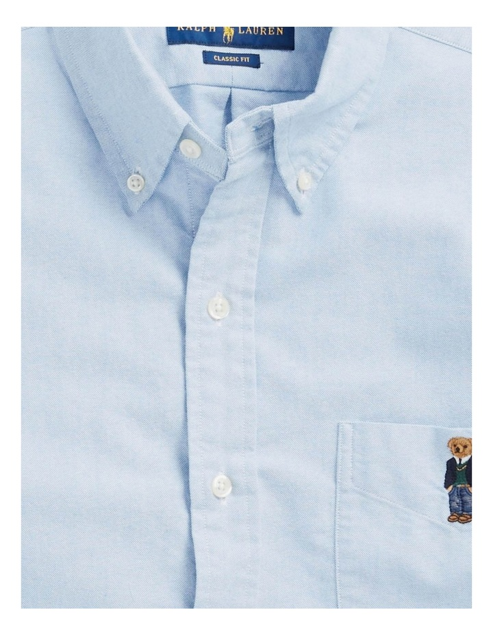 Classic Fit Bear Oxford Shirt image 5