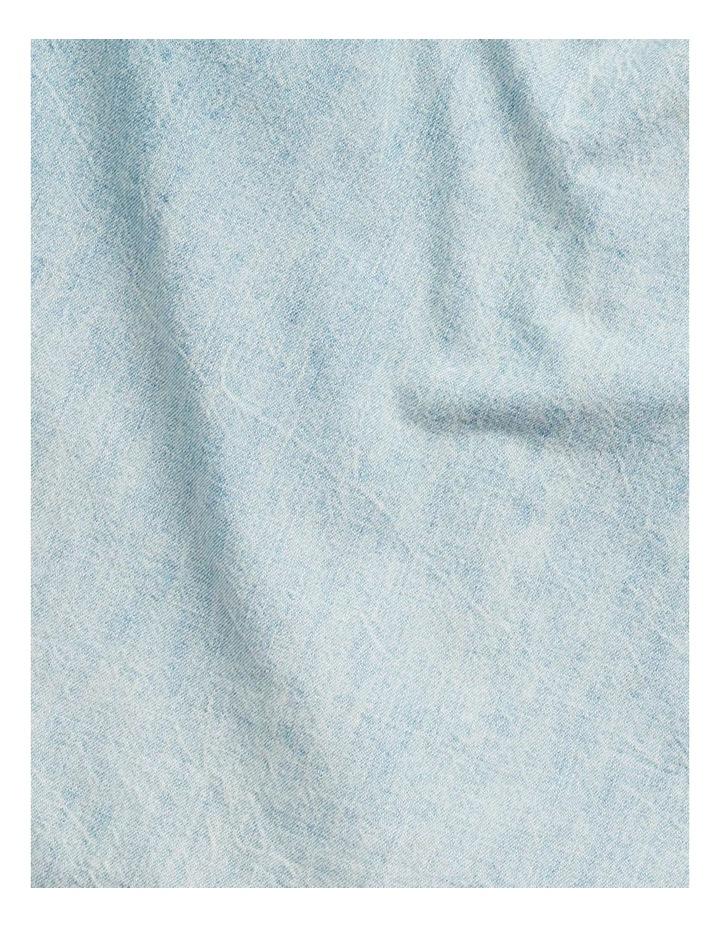 Classic Fit Cotton Denim Long Sleeve Shirt image 4