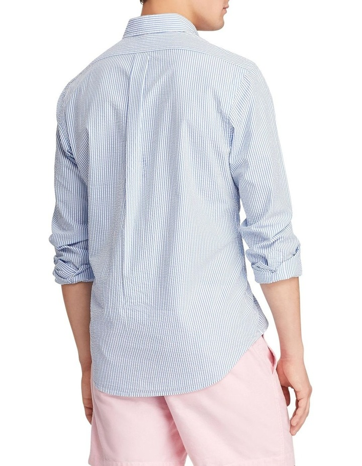 Classic Fit Striped Long Sleeve Shirt image 2