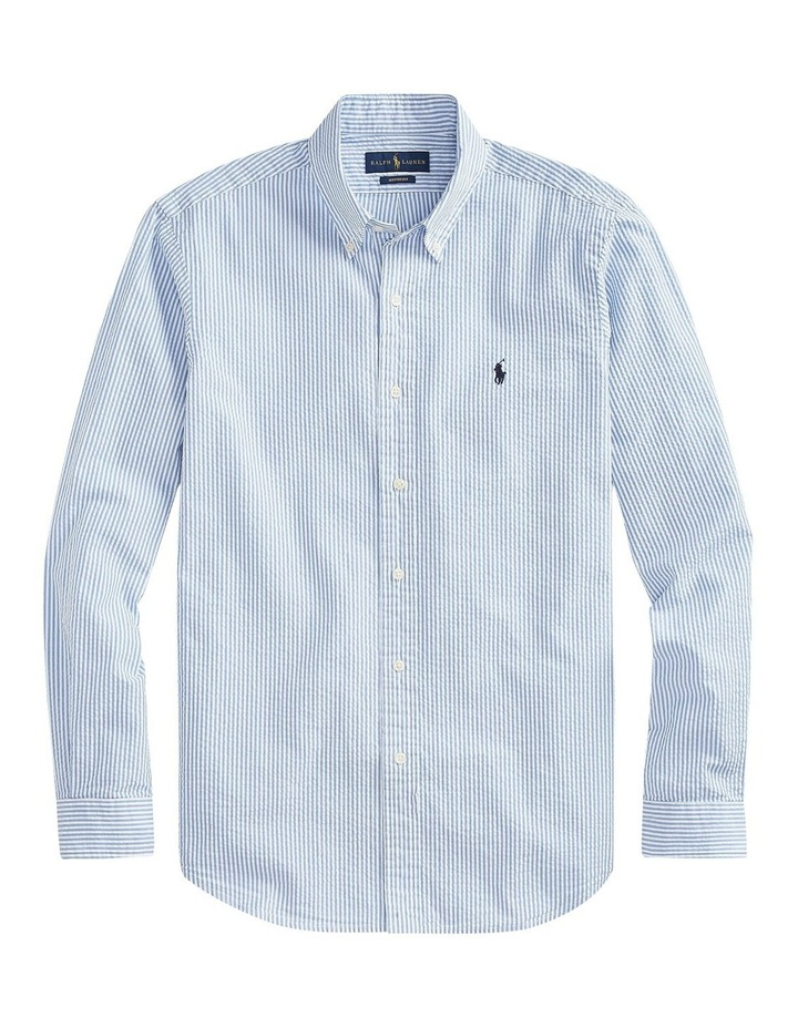 Classic Fit Striped Long Sleeve Shirt image 5