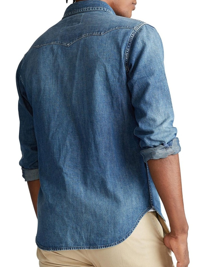 Classic Fit Western Long Sleeve Shirt image 2