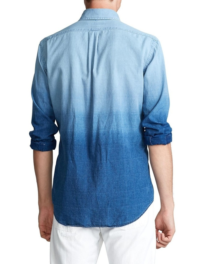 Classic Fit Dip-Dyed Long Sleeve Shirt image 2