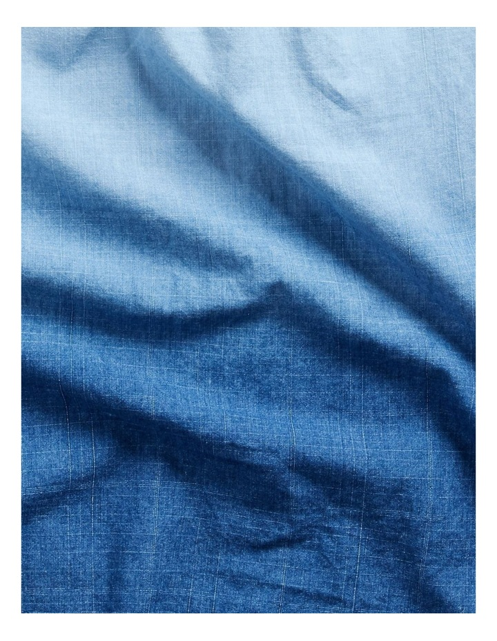 Classic Fit Dip-Dyed Long Sleeve Shirt image 6