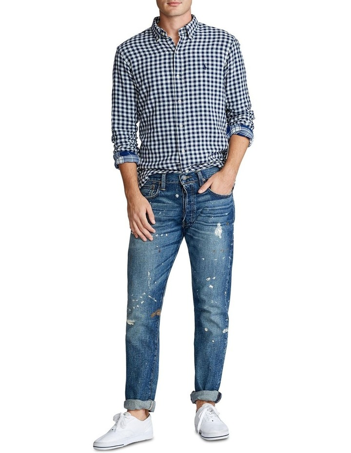 Classic Fit Plaid Long Sleeve Shirt image 3