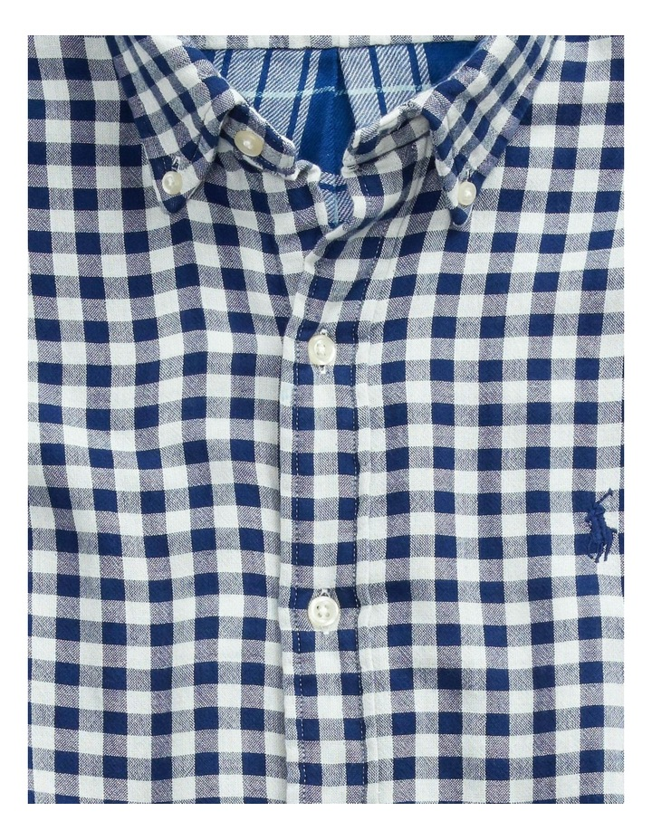 Classic Fit Plaid Long Sleeve Shirt image 5