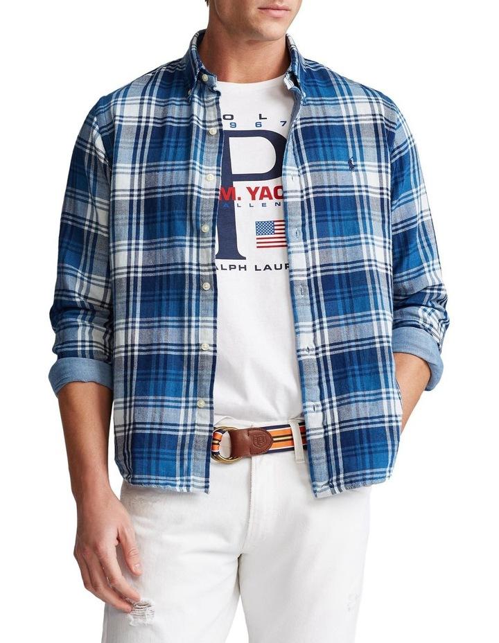 Classic Fit Plaid Long Sleeve Shirt image 1