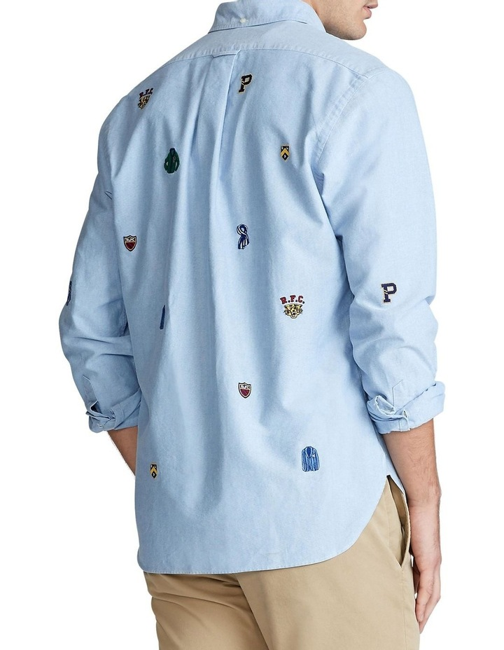 Classic Fit Embroidered Long Sleeve Shirt image 2