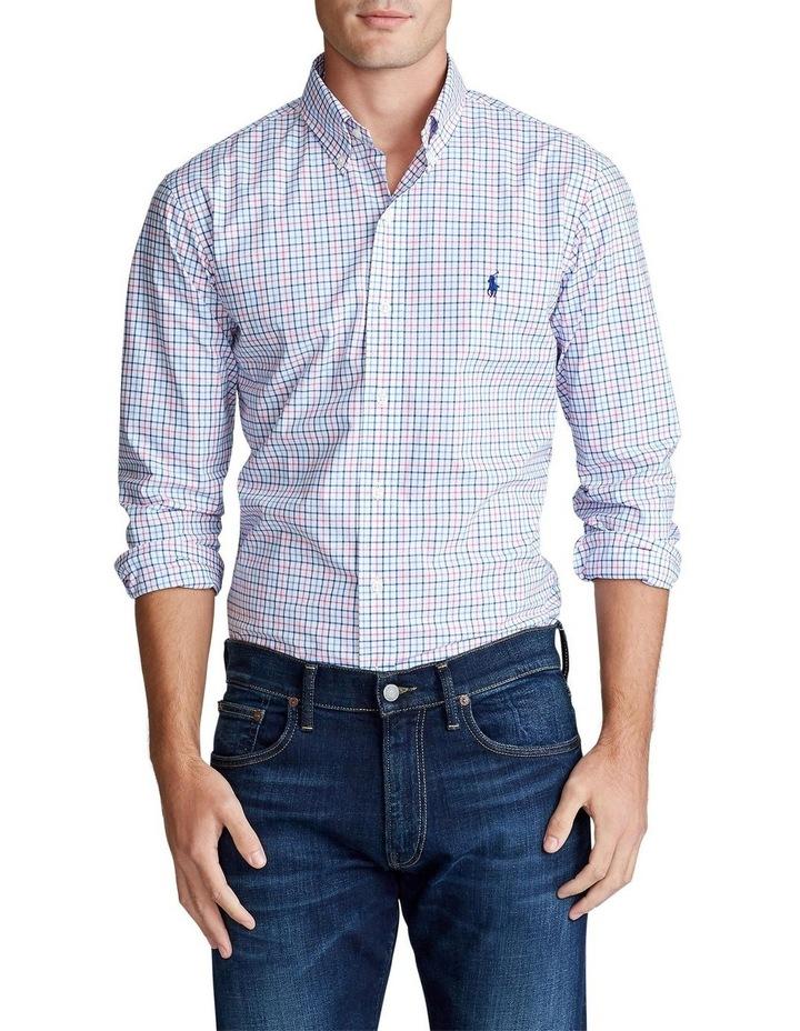 Slim Fit Tattersall Long Sleeve Shirt image 1