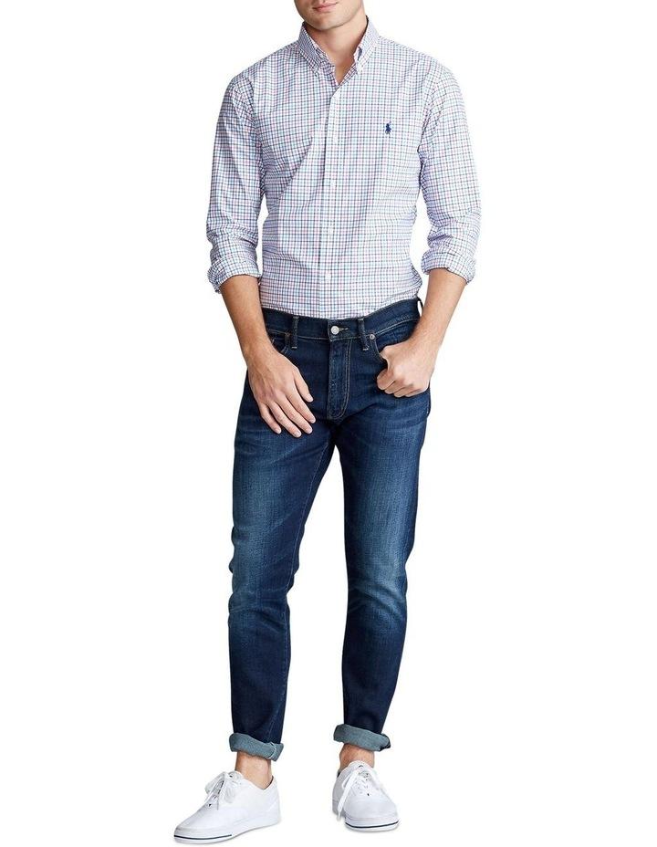 Slim Fit Tattersall Long Sleeve Shirt image 3