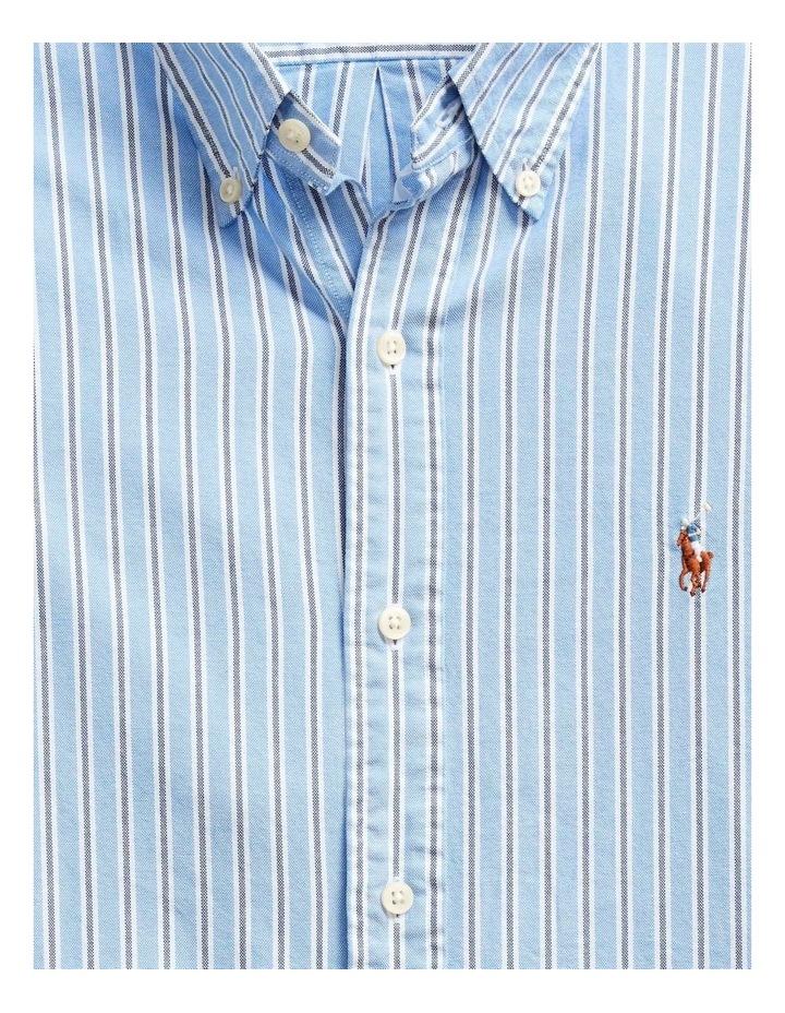 Custom Fit Striped Long Sleeve Shirt image 5