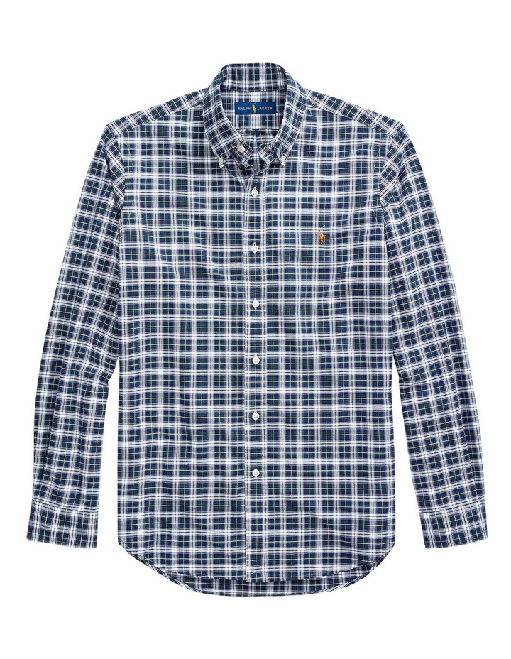 Custom Fit Plaid Long Sleeve Shirt image 4