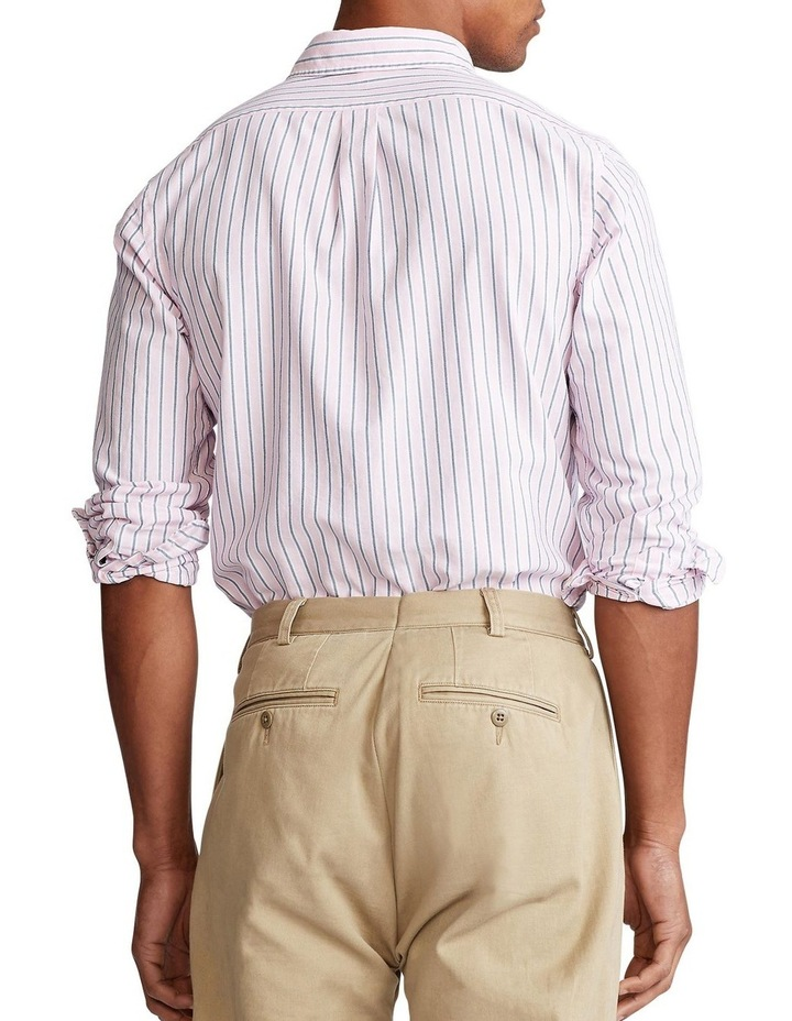 Custom Fit Striped Long Sleeve Shirt image 2