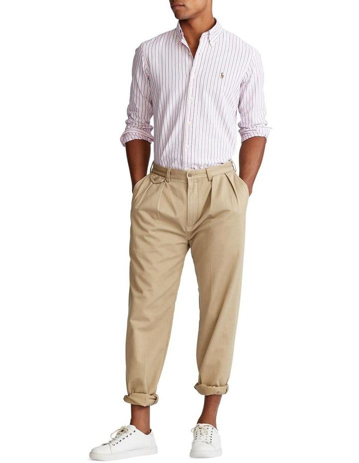 Custom Fit Striped Long Sleeve Shirt image 3