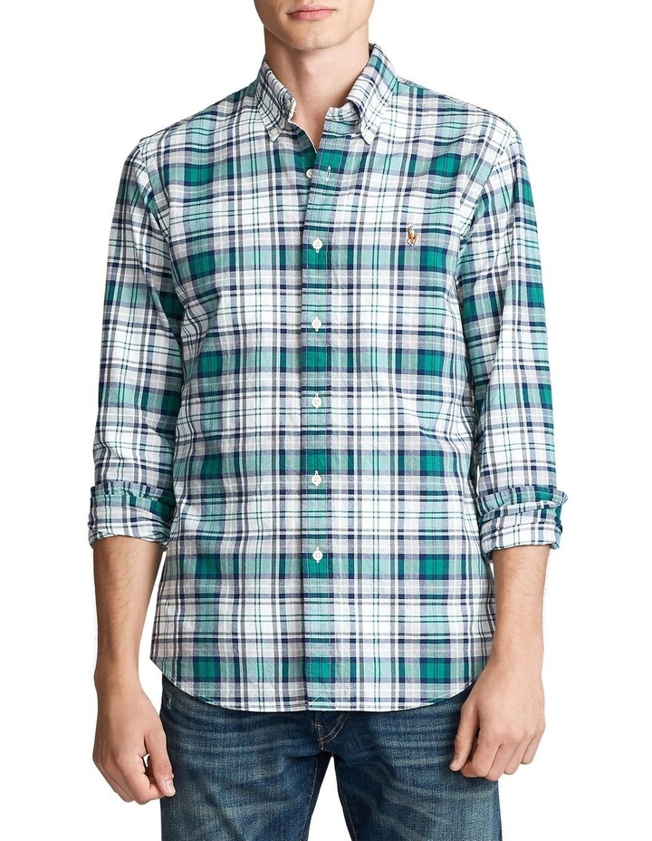 Custom Fit Plaid Long Sleeve Shirt image 1