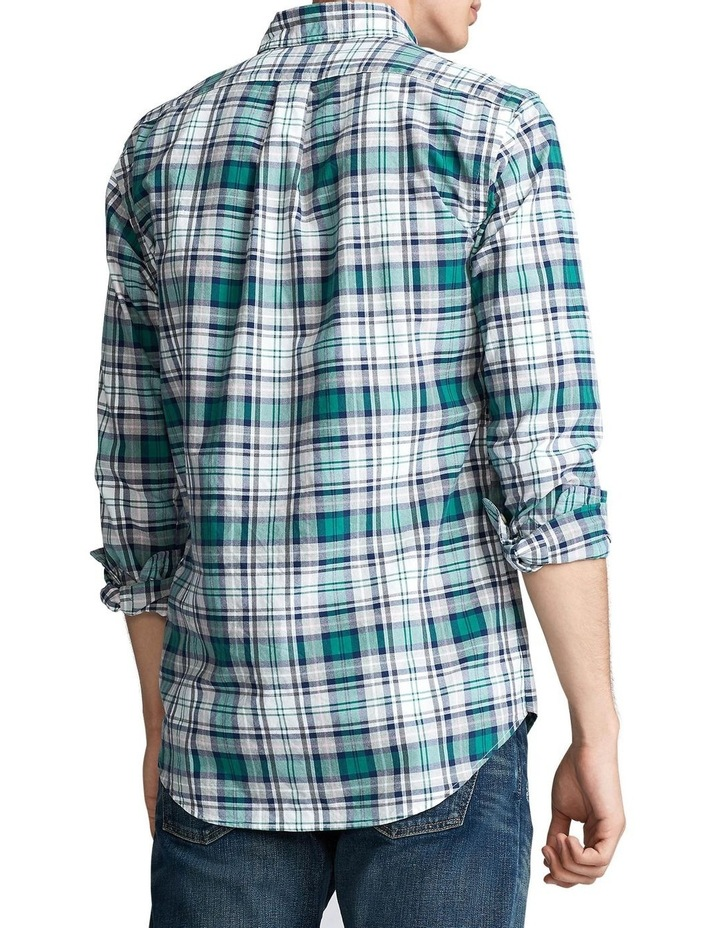 Custom Fit Plaid Long Sleeve Shirt image 2