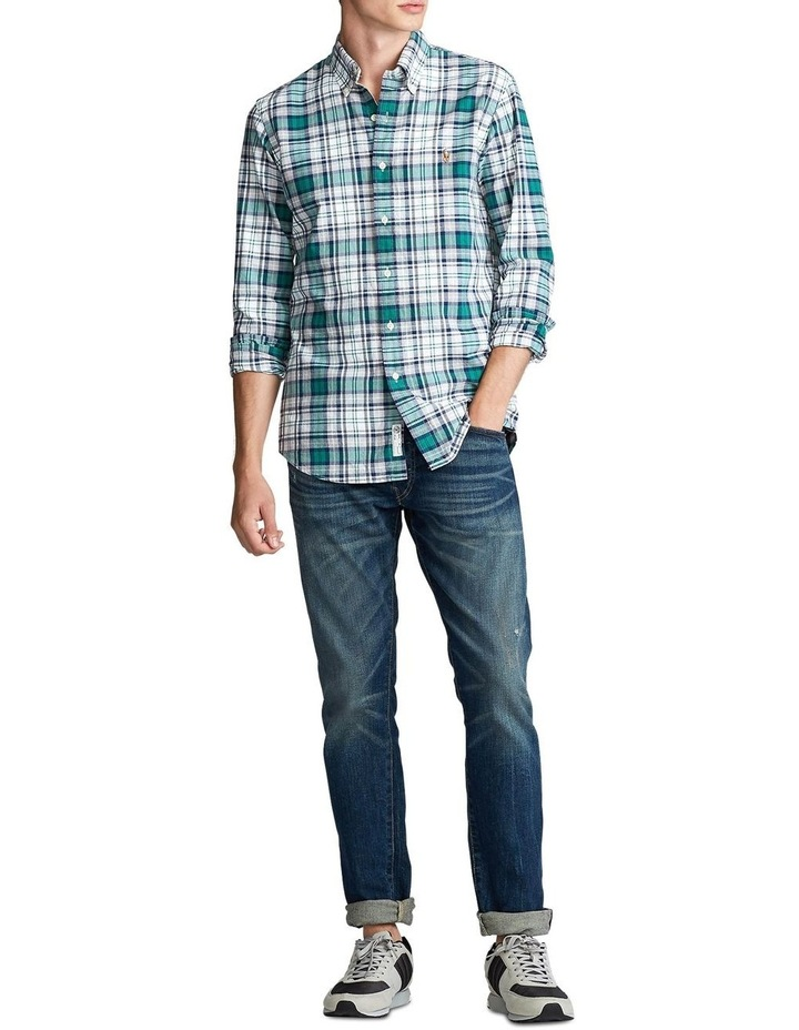 Custom Fit Plaid Long Sleeve Shirt image 3