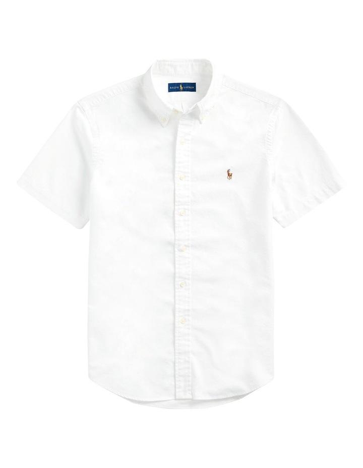 Custom Fit Oxford Long Sleeve Shirt image 4