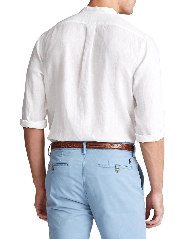 Classic Fit Linen Long Sleeve Shirt image 2