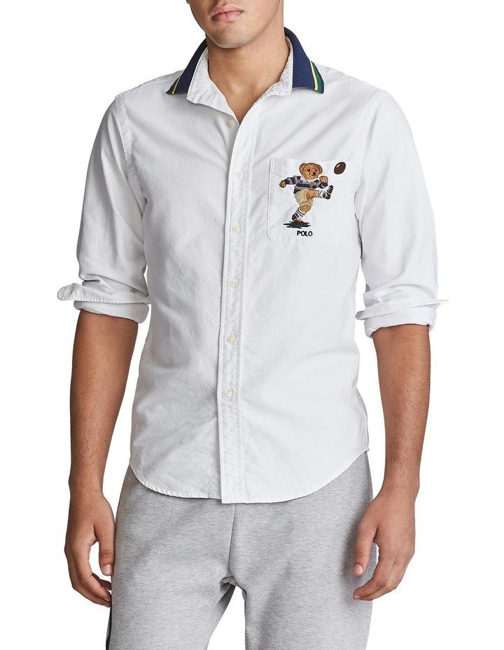 Custom Fit Kicker Bear Long Sleeve Shirt image 1