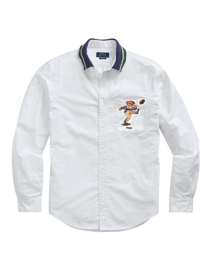 Custom Fit Kicker Bear Long Sleeve Shirt image 4