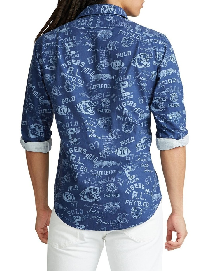 Custom Fit Graphic Long Sleeve Shirt image 2