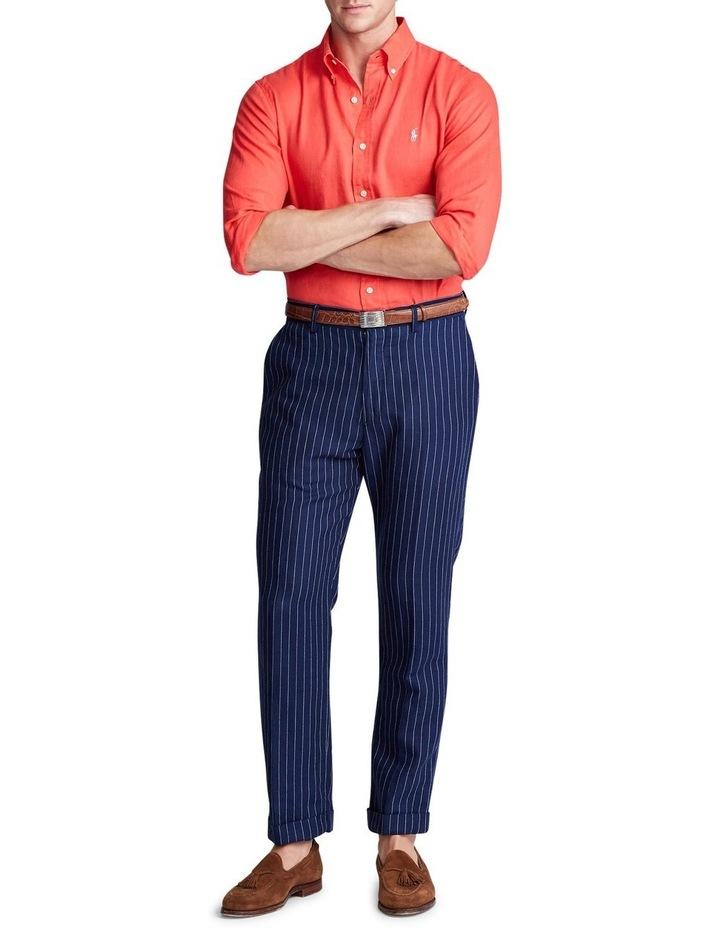 Classic Fit Linen Long Sleeve Shirt image 3