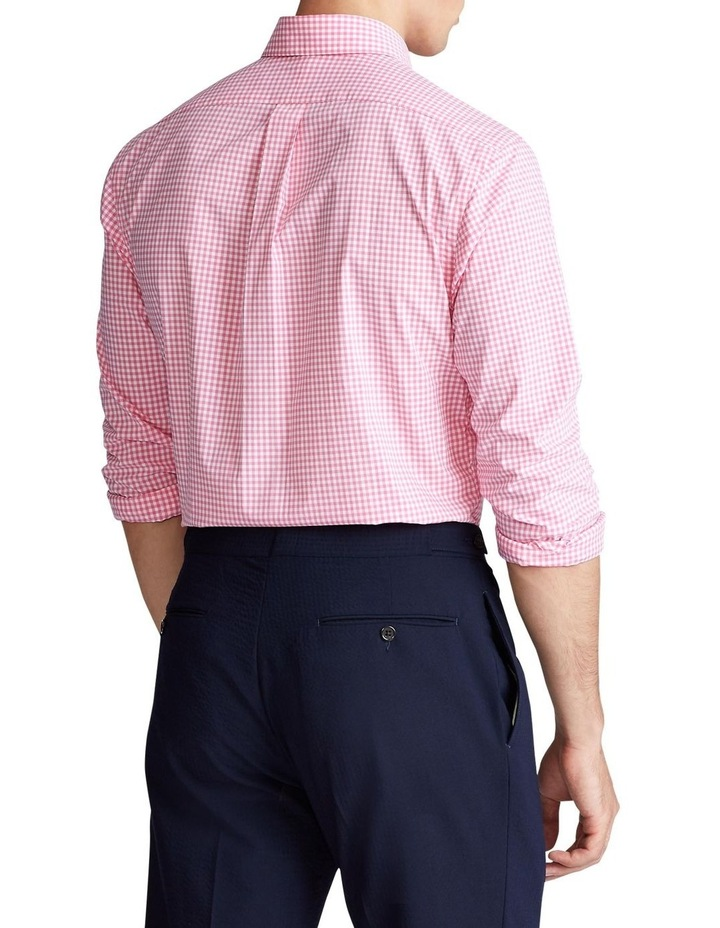 Slim Fit Plaid Poplin Long Sleeve Shirt image 2