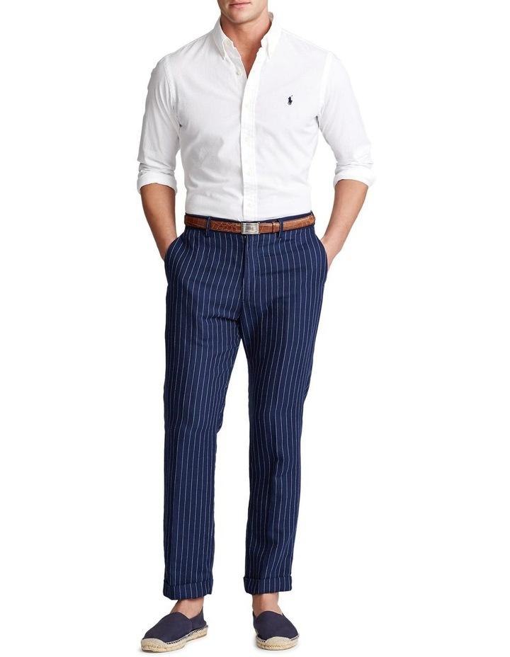 Classic Fit Seersucker Long Sleeve Shirt image 3