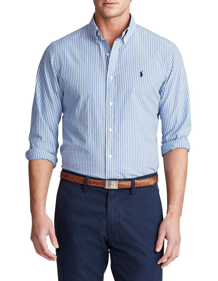 Classic Fit Striped Long Sleeve Shirt image 1