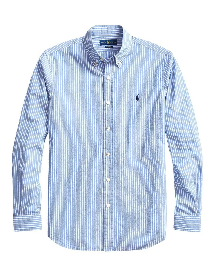 Classic Fit Striped Long Sleeve Shirt image 4