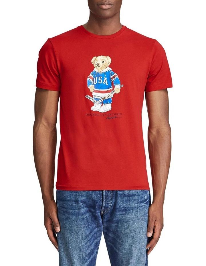 Custom Slim Fit Bear T-Shirt image 1